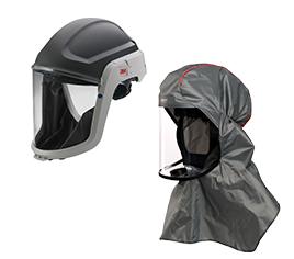 Kopfteile für Atemschutzgebläse