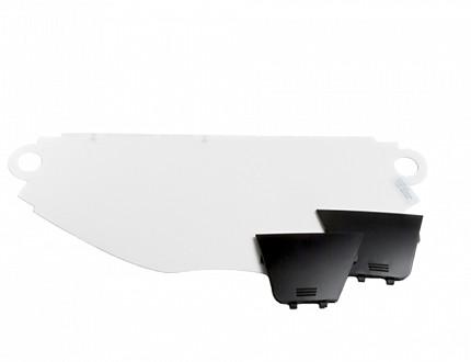 Sundström SR 540 - Sichtscheibensatz und Deckel - Polycarbonat