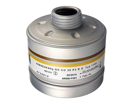 Dräger Kombinationsfilter A2B2E2K2-Hg-NO-CO-P3 R D