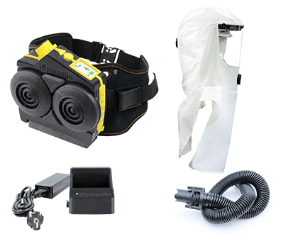 Ready-Pack e-breathe e-Flow mit Multi-Hood mit Helmhalterung