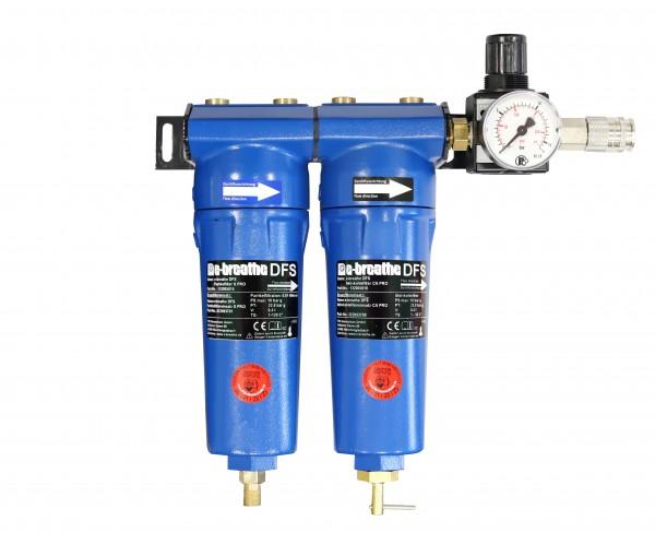 e-breathe Druckluft-Filterstation PRO 2 (V.2.0) WH