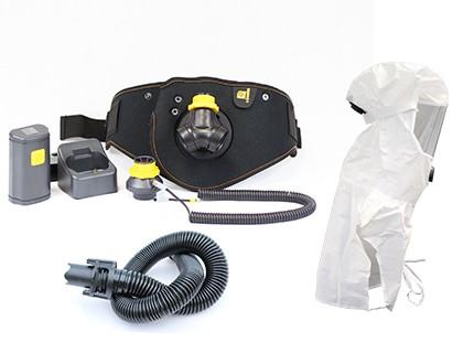 Ready Pack Smartblower Zweifilter-Betrieb mit PM Laborhaube AV