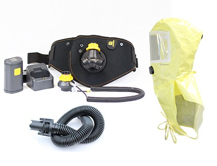 Ready Pack Smartblower Zweifilter-Betrieb mit PM Chemical Hood