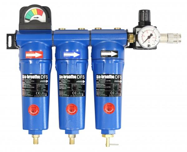 e-breathe Druckluft-Filterstation PRO 3 (V.2.0) WH
