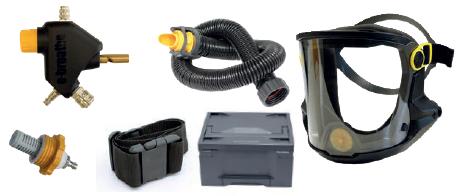 Ready-Pack e-breathe e-Line mit Multimask Pro/ Haube