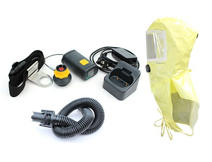 Ready-Pack Smartblower Einfilter-Betrieb mit PM Chemical Hood