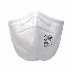 JSP Feinstaubmaske FFP2 ohne Ventil - flach gefaltet