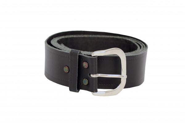 e-breathe FDS Ledergürtel 130cm mit Schnalle