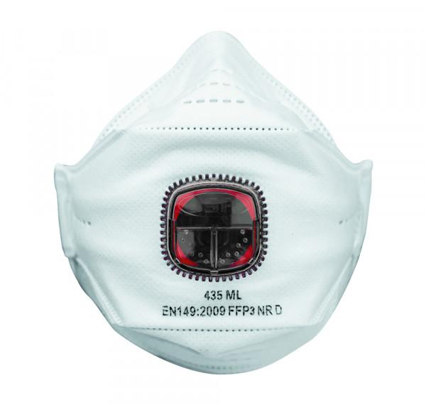 JSP Spring Fit 435 Feinstaubmaske FFP3/AV (VPE 10)