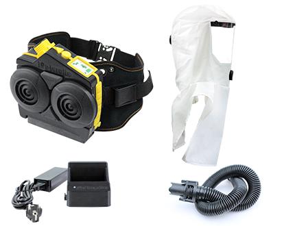 Ready-Pack e-breathe e-Flow mit Multi-Hood mit Kopfhalterung