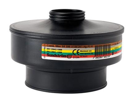 Sundström Kombinationsfilter A1BE2K1-Hg-P3 SR 599